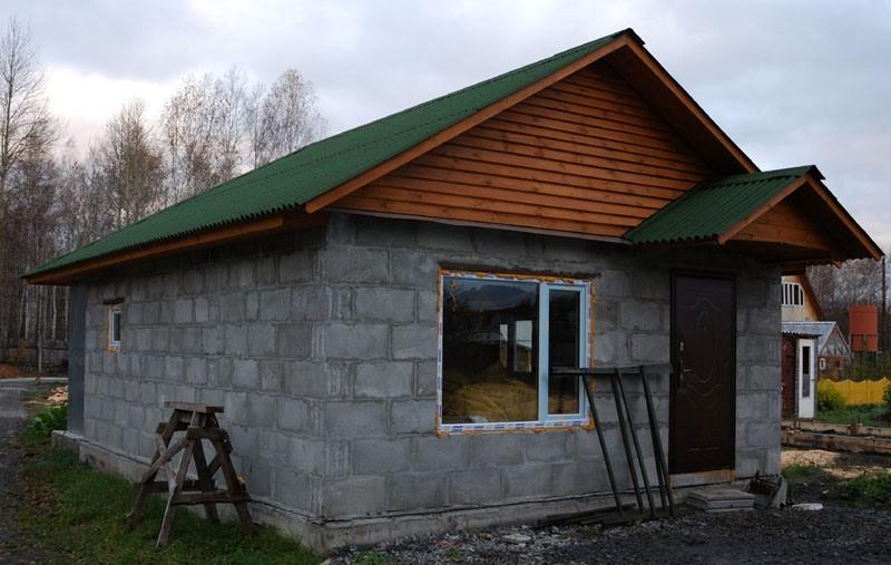 Строить дом своими руками из шлакоблока